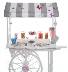 candy cart, children's candy cart