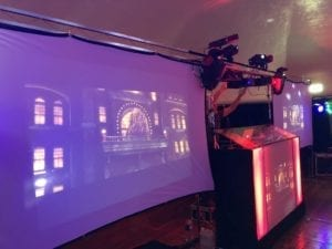 video disco hire, video hire, projector and screen hire, projector hire