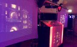 video disco, video disco hire, big screen hire, projector and screen hire.
