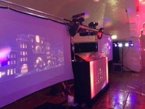 video disco, video disco hire, projector hire, AV hire, audio visual hire, big screen hire.