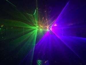 video disco, mood lighting, up lighting, glen pavilion, prom night,