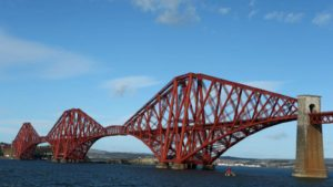 Forth Rail Bridge near Edinburgh
