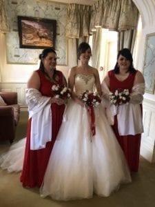 Kelly the bride.