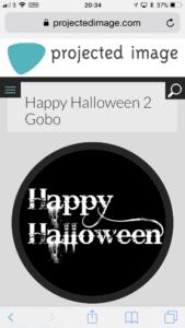 Happy Halloween Gobo.