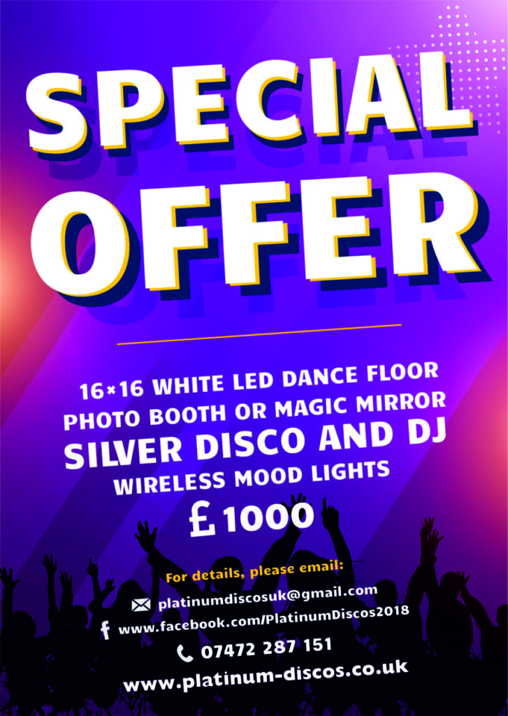 special offer Wedding Party Dj