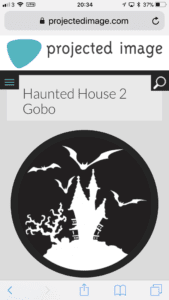 Haunted House Gobo
