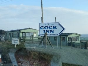 The Cock Inn Auchenmalg.