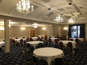 The Royal George Hotel Perth Ballroom.