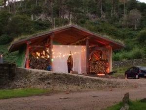 Glencanisp Lodge.