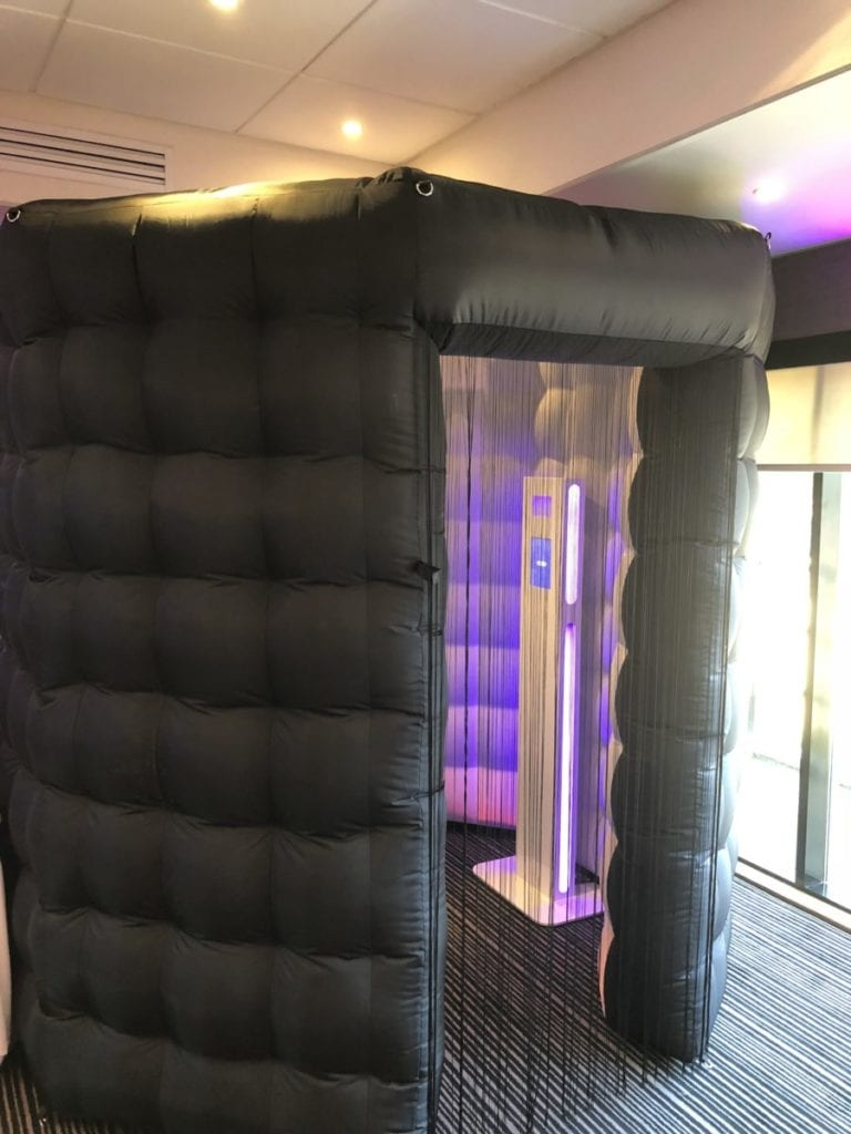 Wedding decor Scotland | Inflatable photo booth