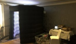 My photo booth in Gretna Hall Hotel.