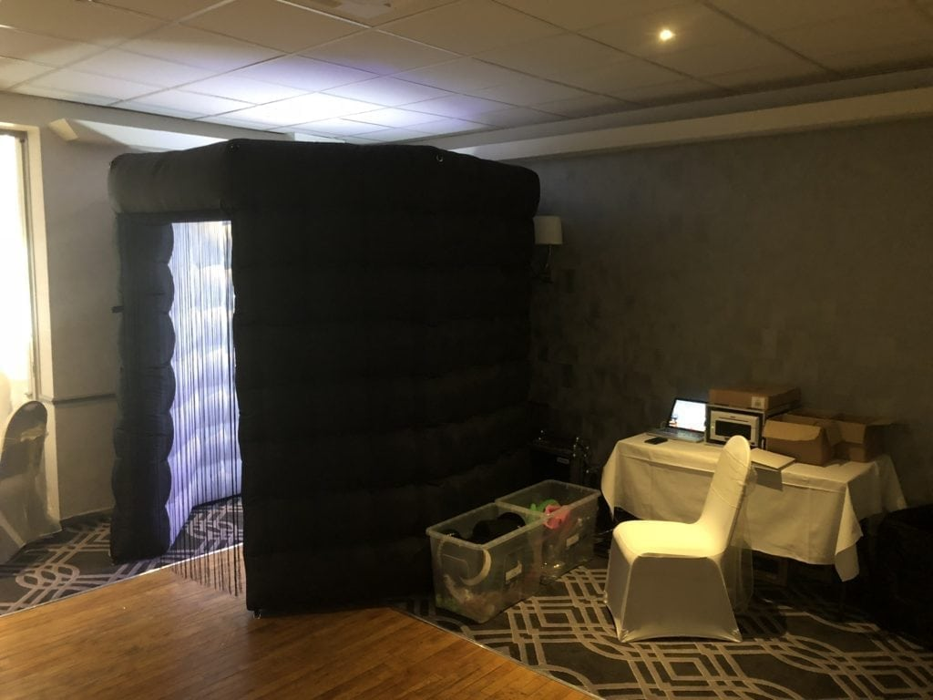 Photo Booth Hire | Photo booth in Gretna Hall Hotel.