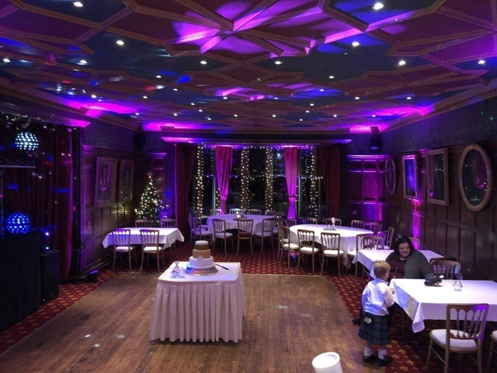 Wedding Dj | mobile disco | Edinburgh | Wireless mood lighting.