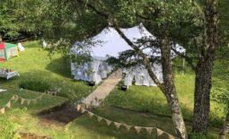 Bearnock Lodge wedding venue.