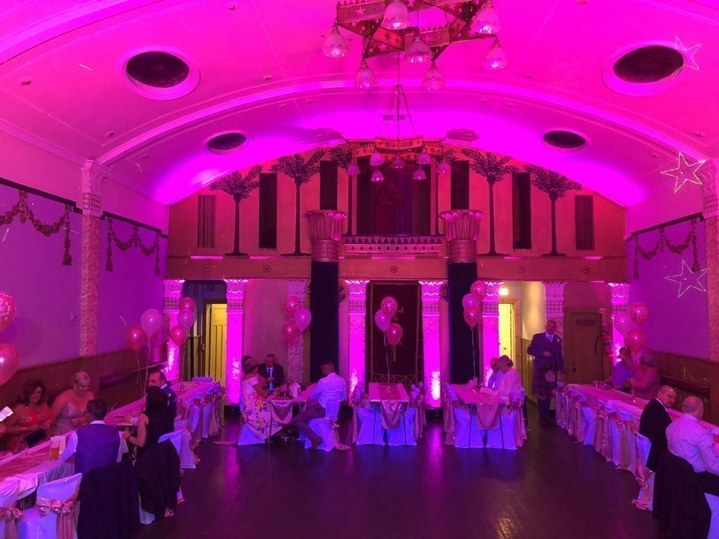 Wedding Dj Loch Lomond | Renton Masonic Hall.