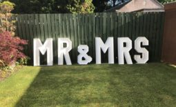4ft Led Mr & Mrs giant letters.