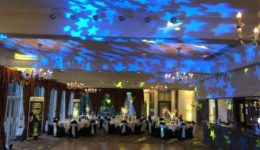 My disco at Ardoe House Hotel, Aberdeen.