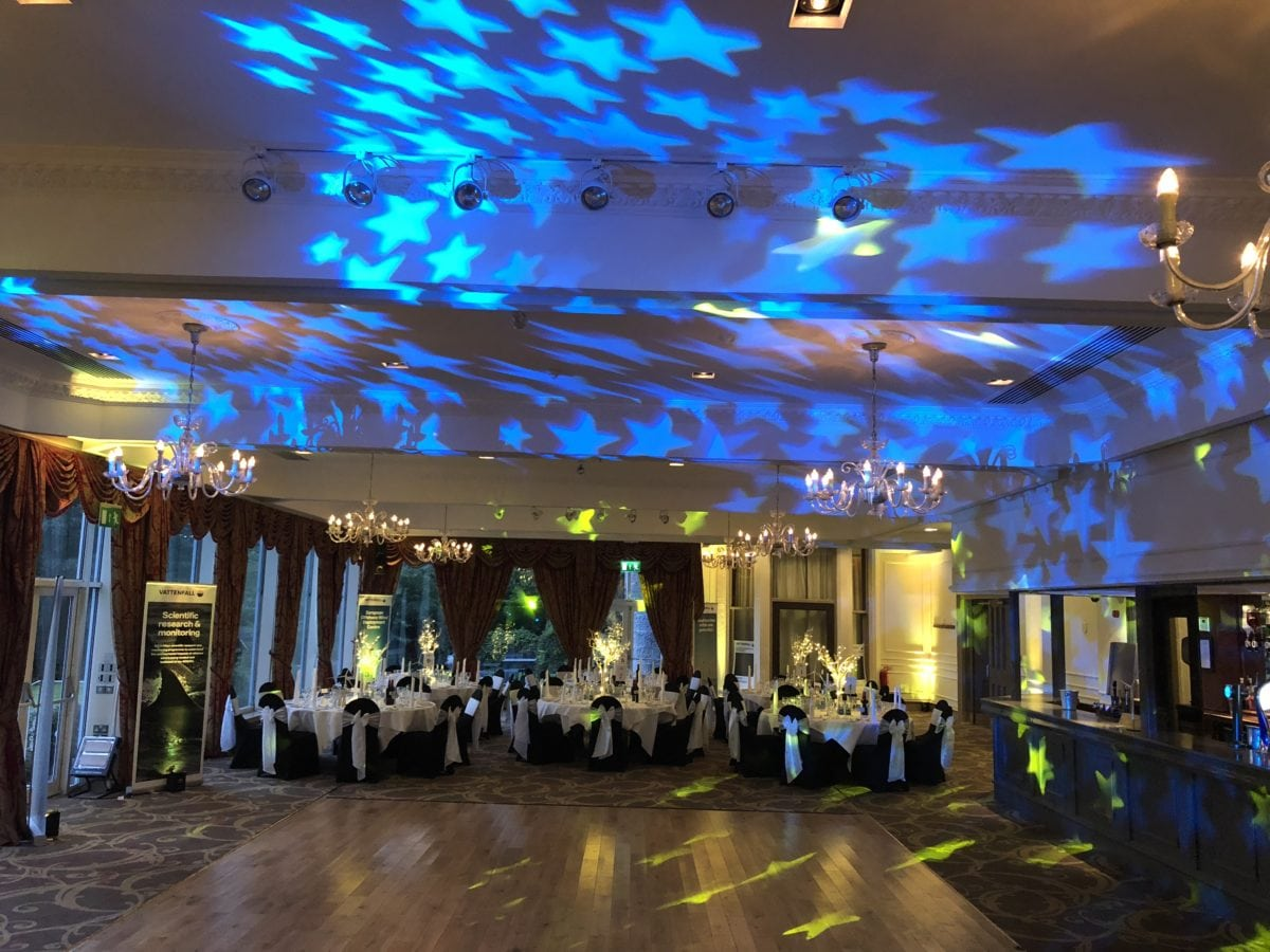 My disco at Ardoe House Hotel, Aberdeen. Wedding Party Dj