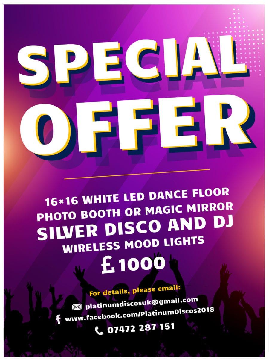Wedding Dj special offer.