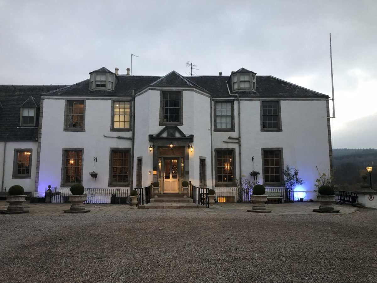 A stunning hotel in Banchory.