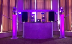 Hire me as your wedding Dj and you'll get a disco that looks like this one. This photo was taken at The Atholl Palace Hotel in Pitlochry in the Bow Lounge.