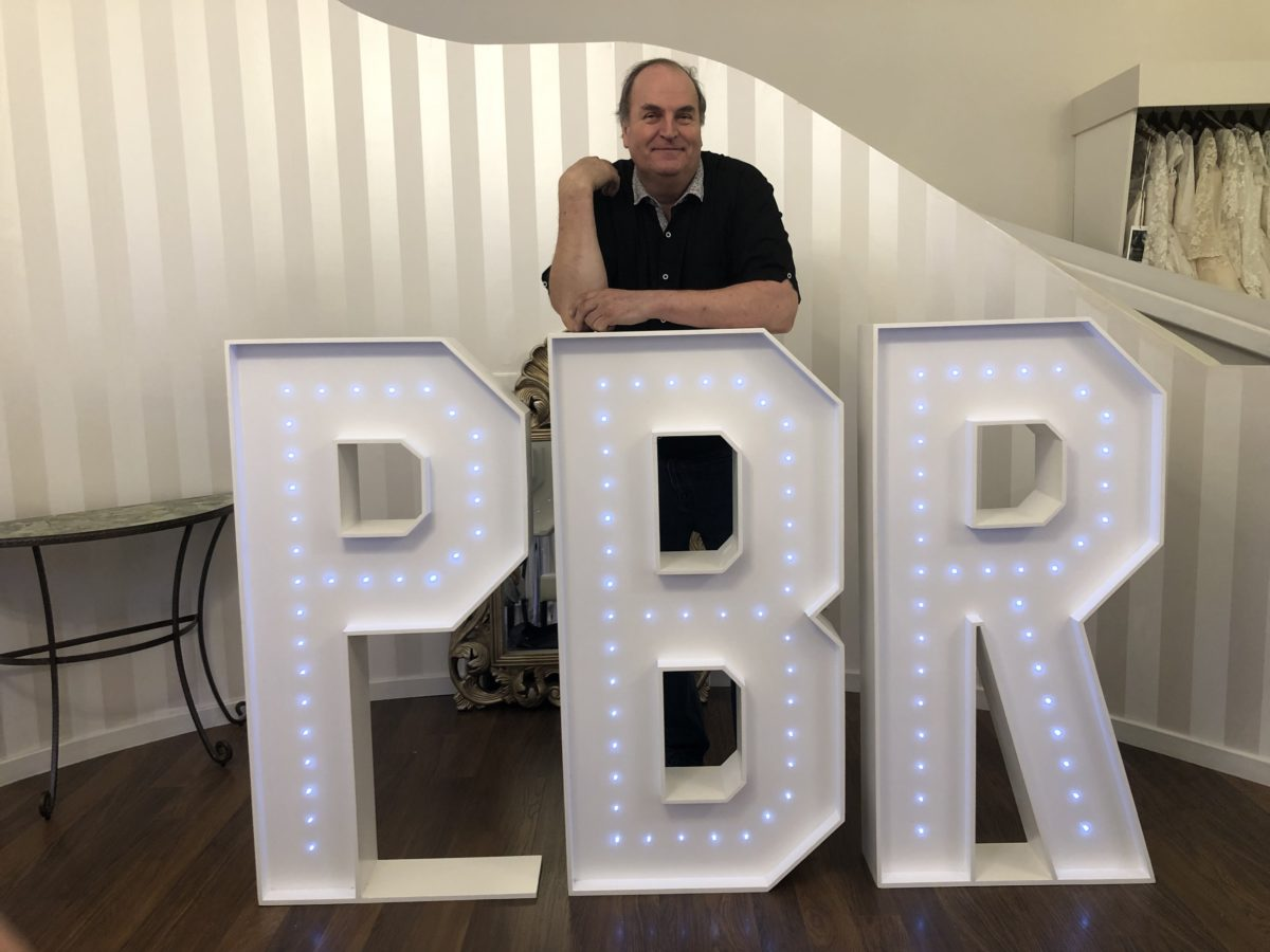 Me with my giant letters.