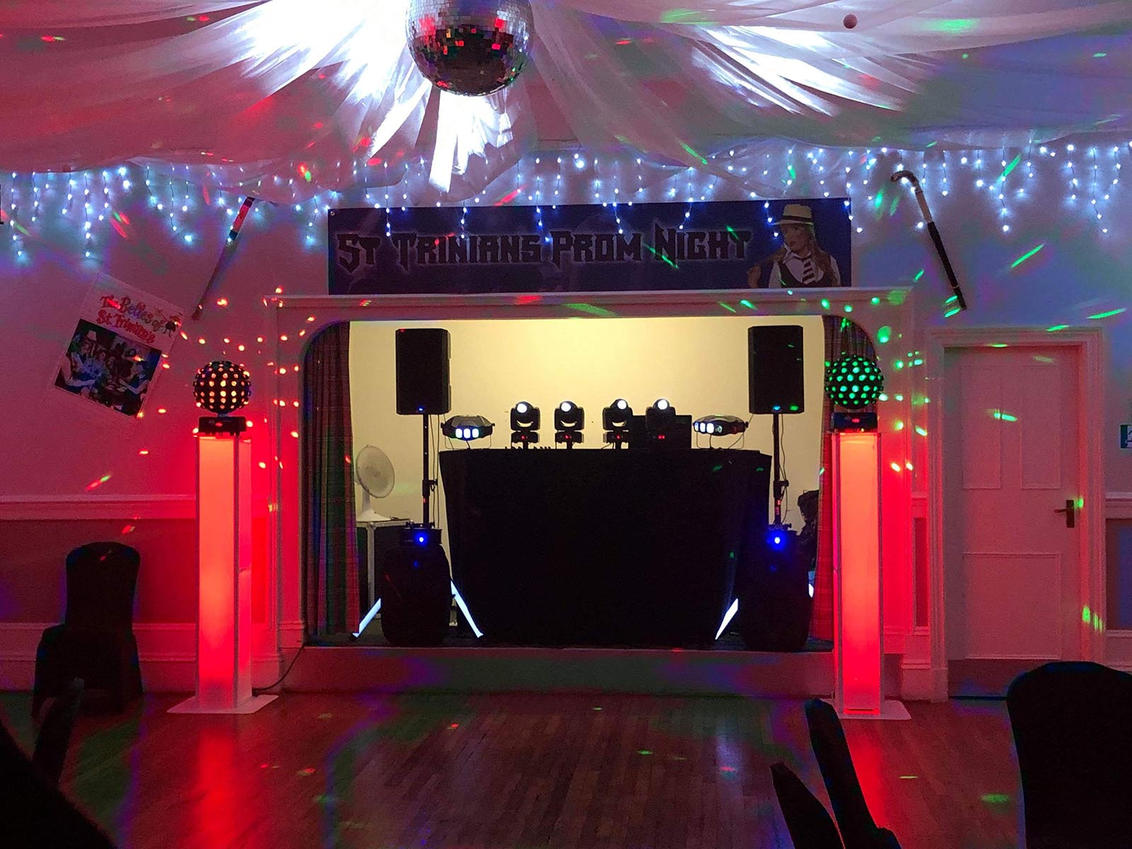 Christmas party nights at The Ramnee Hotel Forres.