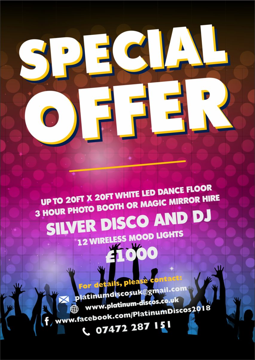 The ultimate wedding special offer.