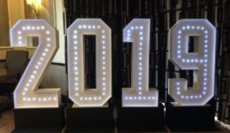 Giant Numbers or giant letters, we can provide it for your wedding as part of our wedding special offer.