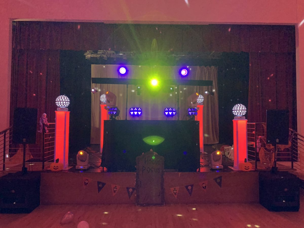 My Gold mobile disco package at a School in Ayr.