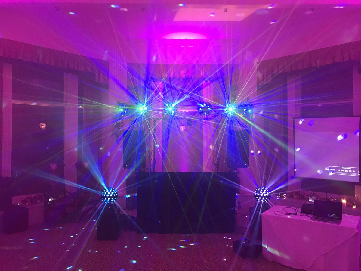 My Silver mobile disco hire in The Bow Lounge at The Atholl Palace Hotel, Pitlochry.